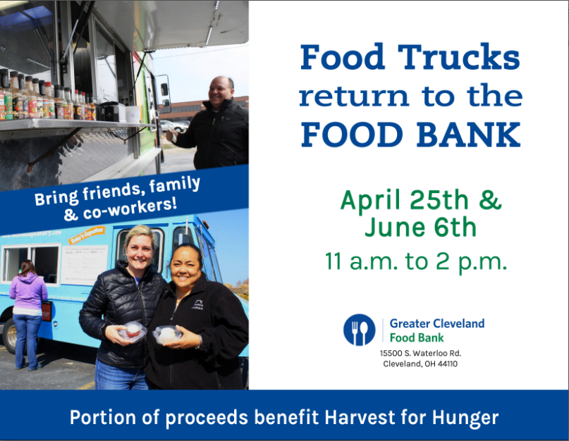 Cleveland Foodbank Food Truck Fundrasier