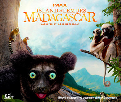 IMAX Island of Lemurs Madagascar at the Cleveland Great Lakes Science Center