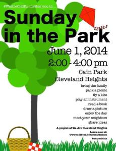 Sunday in the Park at Cain Park Cleveland Heights