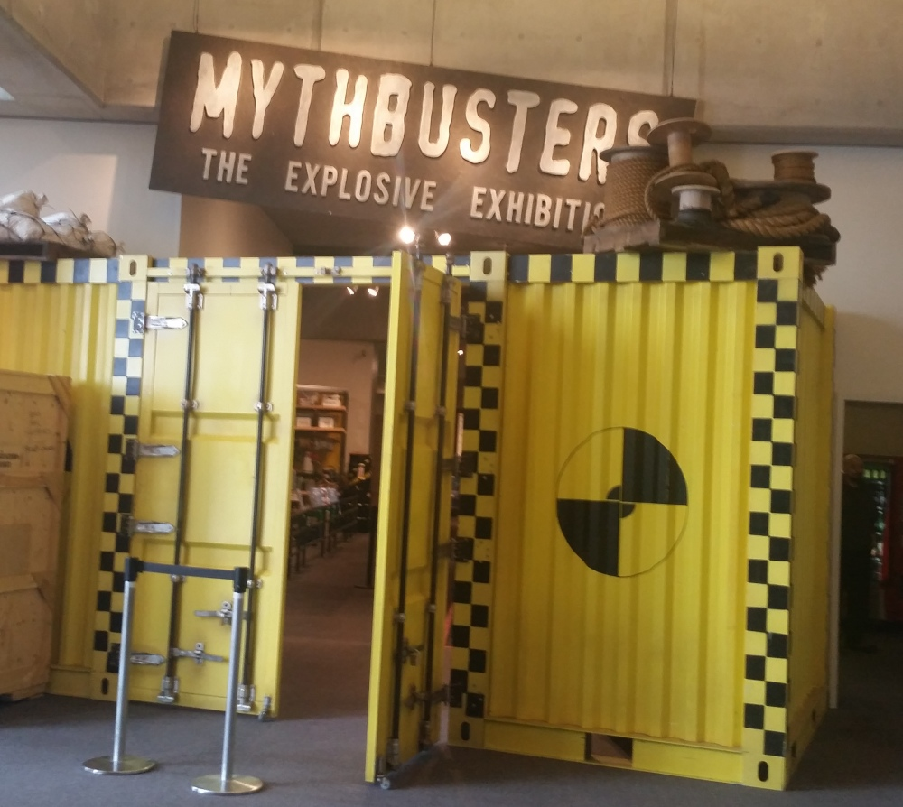 Mythbusters: The Explosive Exhibit